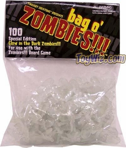 Board Game Glow in the Dark Bag-O-Zombies