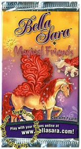 Bella Sara Horses Trading Card Game Series 6 Magical Friends Booster Pack