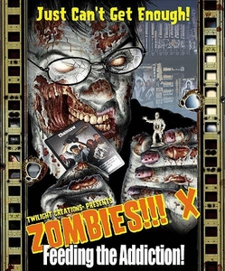 Zombies!!! Twilight Creations Board Game Expansion X: Feeding the Addiction