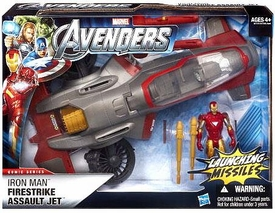 Marvel Avengers Movie Battle Vehicle Iron Man Firestrike Assault Jet