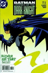 BATMAN: LEGENDS OF THE DARK KNIGHT # 185