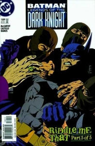 BATMAN: LEGENDS OF THE DARK KNIGHT # 189