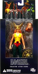 DC Direct Justice League Alex Ross Series 6 Action Figure Hawkgirl