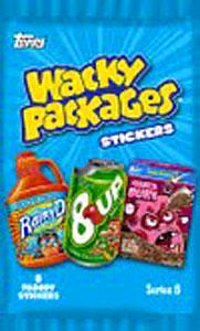 Topps Wacky Packages Series 8 Trading Card Stickers Pack