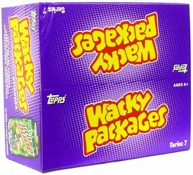 Topps Wacky Packages Series 7 Trading Card Stickers Box [24 Packs]