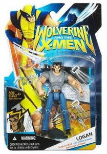 Wolverine and the X-Men Animated Action Figure Logan [Grey Shirt & Jeans]