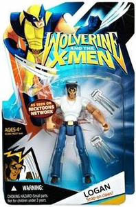 Wolverine and the X-Men Animated Action Figure Logan [White Shirt & Jeans]