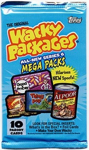Topps Wacky Packages Series 6 Trading Card Stickers Pack