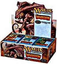 Magic the Gathering Invasion Booster BOX [36 Packs]