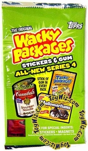 Topps Wacky Packages Series 4 Trading Card Stickers Pack