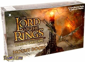 Lord of the Rings Card Game Mount Doom Booster BOX
