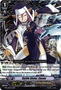 Cardfight Vanguard ENGLISH Descent of the King of Knights Single Card RRR Rare BT01-007ENBattle Sister, Cocoa