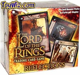 Lord of the Rings Card Game Reflections Booster BOX [24 Packs]