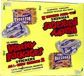 Topps Wacky Packages Series 2 Trading Card Stickers Box [24 Packs]