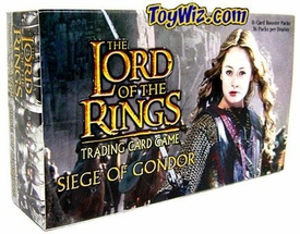Lord of the Rings Card Game Siege of Gondor Booster BOX