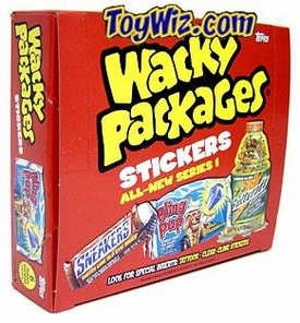 Topps Wacky Packages Series 1 Trading Card Stickers Box [24 Packs]