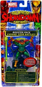 Marvel Heroes Super Hero Showdown Booster Pack with Super Poseable Action Figure Doc Ock