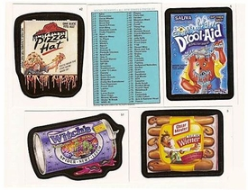 Topps Wacky Packages Series 6 Complete Set