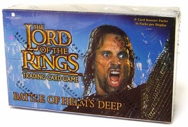Lord of the Rings Card Game Battle of Helm's Deep Booster BOX [36 Packs]