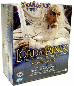 Lord of the Rings Topps The Return of the King Movie Card Box