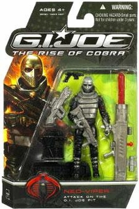 GI Joe Movie The Rise of Cobra 3 3/4 Inch Action Figure Neo-Viper [Attack on the GI Joe Pit]