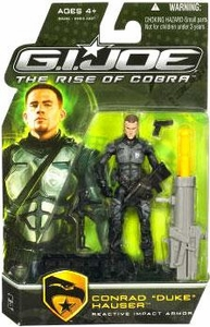 GI Joe Movie The Rise of Cobra 3 3/4 Inch Action Figure Conrad