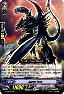 Cardfight Vanguard ENGLISH Descent of the King of Knights Single Card Rare BT01-029EN Brutal Jack