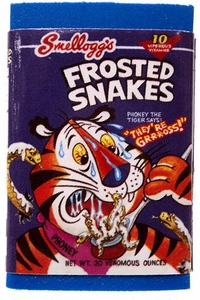 Topps Wacky Packages Erasers Series 1 Single Eraser #10 Frosted Snakes
