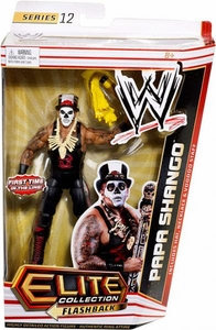 Mattel WWE Wrestling Elite Series 12 Action Figure Papa Shango