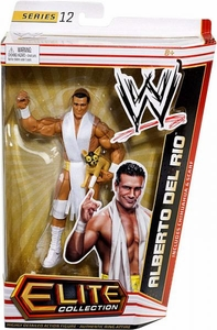 Mattel WWE Wrestling Elite Series 12 Action Figure Alberto Del Rio