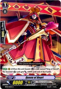 Cardfight Vanguard ENGLISH Descent of the King of Knights Single Card Rare BT01-031EN Queen of Heart