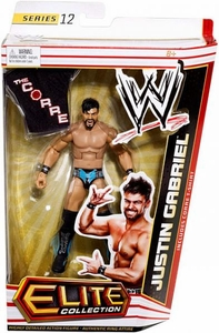 Mattel WWE Wrestling Elite Series 12 Action Figure Justin Gabriel