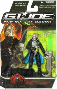 GI Joe Movie The Rise of Cobra 3 3/4 Inch Action Figure Cobra Commander