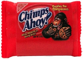 Topps Wacky Packages Erasers Series 1 Single Eraser #22 Rare Chimps Ahoy!