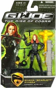 GI Joe Movie The Rise of Cobra 3 3/4 Inch Action Figure Shana