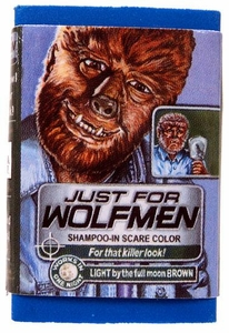 Topps Wacky Packages Erasers Series 1 Single Eraser #24 Rare Just for WolfMen