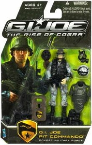 GI Joe Movie The Rise of Cobra 3 3/4 Inch Action Figure Pit Commando [Covert Military Force]