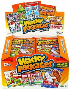 Topps Wacky Packages Series 10 Sticker Trading Card Box [24 Packs]