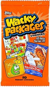 Topps Wacky Packages Series 10 Sticker Trading Card Pack [10 Stickers]