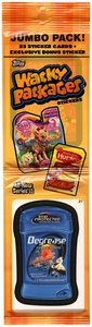 Topps Wacky Packages Series 11 Sticker Trading Card Collector Jumbo Pack [23 Sticker Cards]