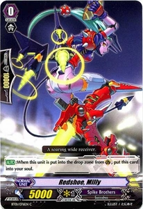 Cardfight Vanguard ENGLISH Descent of the King of Knights Single Card Common BT01-076EN Redshoe, Milly