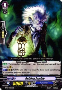 Cardfight Vanguard ENGLISH Descent of the King of Knights Single Card Common BT01-078EN Guiding Zombie