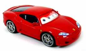Ferrari F430 [Lenticular Eyes] LOOSE Disney / Pixar CARS Movie 1:55 Die Cast Car