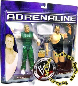 WWE Jakks Pacific Wrestling Adrenaline Series 21 Action Figure 2-Pack Mikey [Spirit Squad] Vs. Big Show