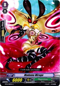 Cardfight Vanguard ENGLISH Descent of the King of Knights Single Card Common BT01-080EN Madame Mirage