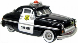 Sheriff [Lenticular Eyes] LOOSE Disney / Pixar CARS Movie 1:55 Die Cast Car