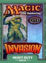 Magic the Gathering Invasion Theme Deck Heavy Duty