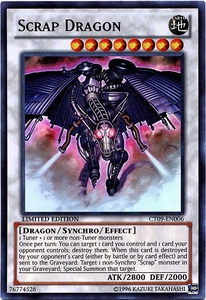 YuGiOh 2012 Holiday Tin Promo Single Card Super Rare CT09-EN006 Scrap Dragon