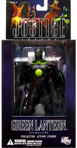 DC Direct Justice League Alex Ross Series 6 Action Figure Armored Green Lantern