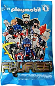 Playmobil Figures Series 1 Minifigure BLUE Mystery Pack [1 RANDOM Figure]